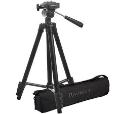 "Ravelli APLT2 50"" Light Weight Aluminum Tripod with Bag for Camcorder SLR Camera"