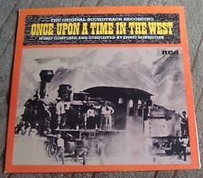 ONCE UPON A TIME IN THE WEST (Ennio Morricone) original USA stereo lp (1972)