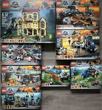 LEGO JURASSIC WORLD COLLECTION #76926,76927,76928,76929,76930,76931,76932,76933