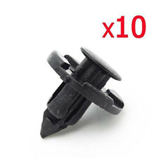 10Pc* 8mm Plastic Rivet Fastener Mud Flaps Bumper Fender Push Clips for Nissan