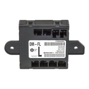 2011-2012 DODGE RAM 2500 3500 FRONT LEFT SIDE DOOR MODULE OEM NEW MOPAR