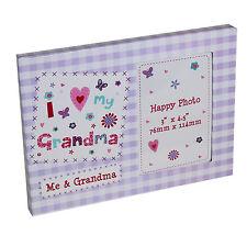 """""""I Love My Grandma"""" Cornice Portafoto - Festa della mamma Day / Compleanno"""