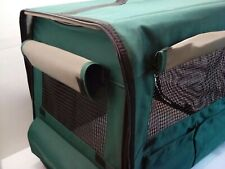 Canine Camper Portable Tent Crate by Midwest Homes for Pets Compact, Foldable