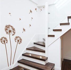 Dandelions Wall Sticker Wall Art Vinyl DIY Wall Decal Home Decor HIGH QUALITY