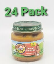 24 pk Earth's Best Organic Baby Food Stage 2 Sweet Potato  - 4 oz. Exp 9/24/2020