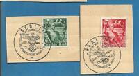 German Third Reich Stamp  --  Postmarked    SET