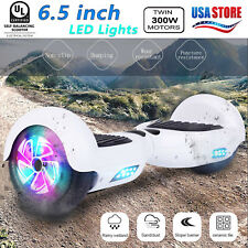 New 6.5 Hoover boards Chrome Hoverboard Electric Self Balancing Scooter UL2272