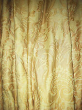 "PAIR MARIANO FORTUNY ""DEMEDICI"" PATTERN FABRIC DRAPES"