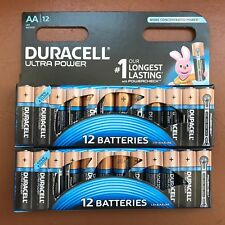 24 x Duracell AA Ultra Power Alkaline Batteries with Power Check LR6 MX1500