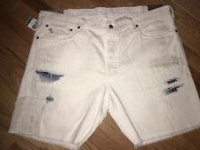 NWT Polo Ralph Lauren White Jeans Shorts sz 30