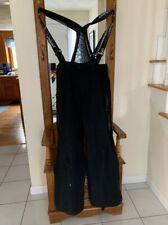 Men's Spyder Black Snow Ski Pants • Size L• Pre-owned