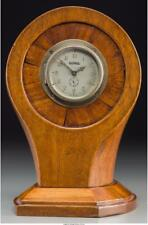 A Mahogany Propeller Clock Marks To Clock Face: Olympic, 8 Days, Ma. Lot 65148