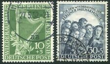 WEST BERLIN-1950 Orchestra Pair Sg B72/3 FINE USED V35094