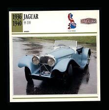 Jaguar ss 100 1938 cars of exception des années 30 atlas new in box