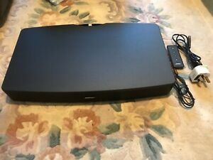 Bose Solo TV Sound System with Remote Control, Power Lead & Optical Audio Cable