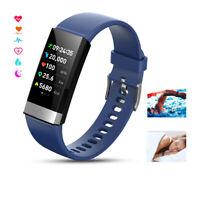 ECG+PPG Smart Fitness Watch Blood Pressure Oxygen Heart Rate Monitor Bracelet