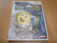 SPONGEBOB SQUAREPANTS CREATURE FROM THE KRUSTY KRAB * NEW& SEALED * Nintendo Wii