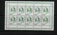 BRD 1433 KB, Kleinbogen / Zehnerbogen postfrisch #m706