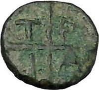 TRAGILOS in MACEDONIA 450BC Hermes Authentic Ancient Greek Coin Rare i47189