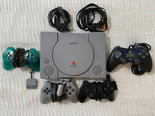Sony Playstation One SCPH-9001, All Cords, 3 Controllers, 3 Memory Cards