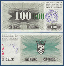 Bosnia/Bosnia 100.000 Dinara 23.10.1993 UNC p.56 (g)