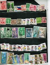 PHILIPPINES  over 80 CLASSICS 2 pages + FDC  USED cat $25.00++  LOT 303