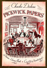 Posthumous Papers of the Pickwick Club by Charles Dickens-Modern Library/DJ