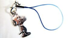 Antique Silver PEANUTS CHARLIE BROWN Phone Charm Gift Bag iPhone SAMSUNG HAUWEI