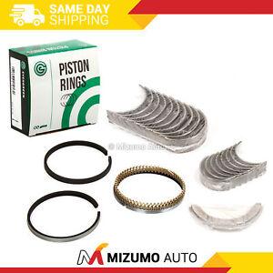 Piston Rings Main Rod Bearings Fits 03-08 Buick Chevrolet Equinox Malibu GMC 2.2