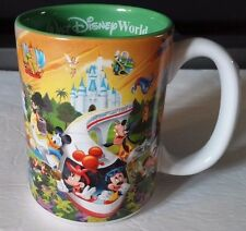 Walt Disney World 3D Monorail 14 Oz Coffee Mug Grandpa Characters Mickey Mouse