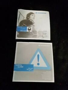 SENNHEISER Model RS 160 Wireless Headphones Manual and Disc ONLY!