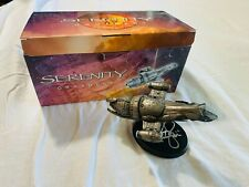 Firefly Serenity Ship Ornament - Signed by Nathan Fillion