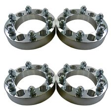 """Four 6 x 5.5 139.7 Wheel Spacers 12x1.5 1"""" fit 4Runner Tacoma Colorado Canyon H3"""