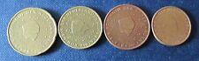 2, 5, 10 + 20 Cent Euro-Münze Niederlande Prägejahr 2001 Umlauf Sammlerstücke