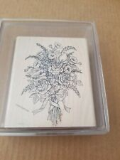 Stampin Up Victorian Bouquet New, Mounted