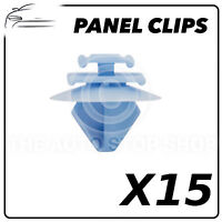 Panel Clips Bodyside Trim Clips Renault DS3 Pack of 15 (Fifteen) Part 1492