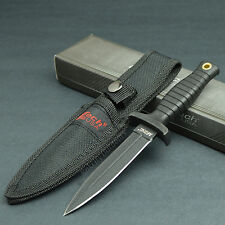 "MTech 7"" Tactical Double Edge 440 Stainless Boot Knife With Sheath 206"