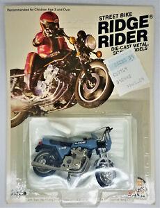 1981 UNPUNCHED Kawasaki 1000 Ridge Rider Die-cast  Metal Scale Model Zee Toys