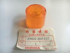 "Original Honda Blinkerglas - CB 300 ,CB 400 ,CB 500 ,CB 750 - ""33402-268-610"""