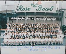 1997 Michigan National Champs team 16 x 20 Autographed by 12 COA Anthony Thomas