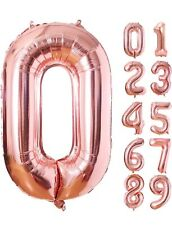 40 Inch Large Digit Helium Foil Birthday Party Balloons Numbers