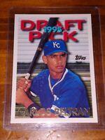 1995 Topps Traded, #18T, HOF Carlos Beltran Rookie, Kansas City Royals, NM!