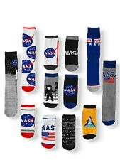 NASA Out of This World Space 12 Days of Socks Advent Calendar Set Men's 10-13