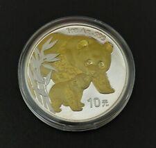 Panda 2004 -  silver gilded