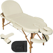 TecTake 400193 3 Zones Pliante Table de Massage - Beige