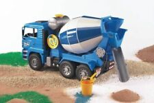 Bruder MAN TGA Cement Mixer Collection Blue Toy Car Model 1/16 1:16
