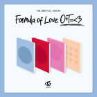 TWICE - Formula of Love: O+T=<3 Album+Pre-Order Benefit+Poster+Express Shipping