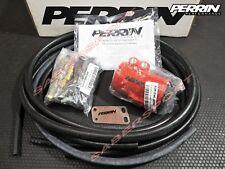 Perrin Red Air Oil Separator for 2008-2014 Subaru WRX / 2008-2019 STi w/ TMIC