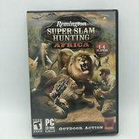 Remington Super Slam Hunting: Africa (PC, 2010) Hunting Game for PC NEW & SEALED