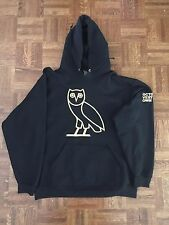 October's Very Own (OVO) Black Owl Logo ON TOUR Hoody Size XL 100% AUTHENTIC!!!